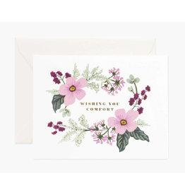 """Wishing You Comfort"" Card"