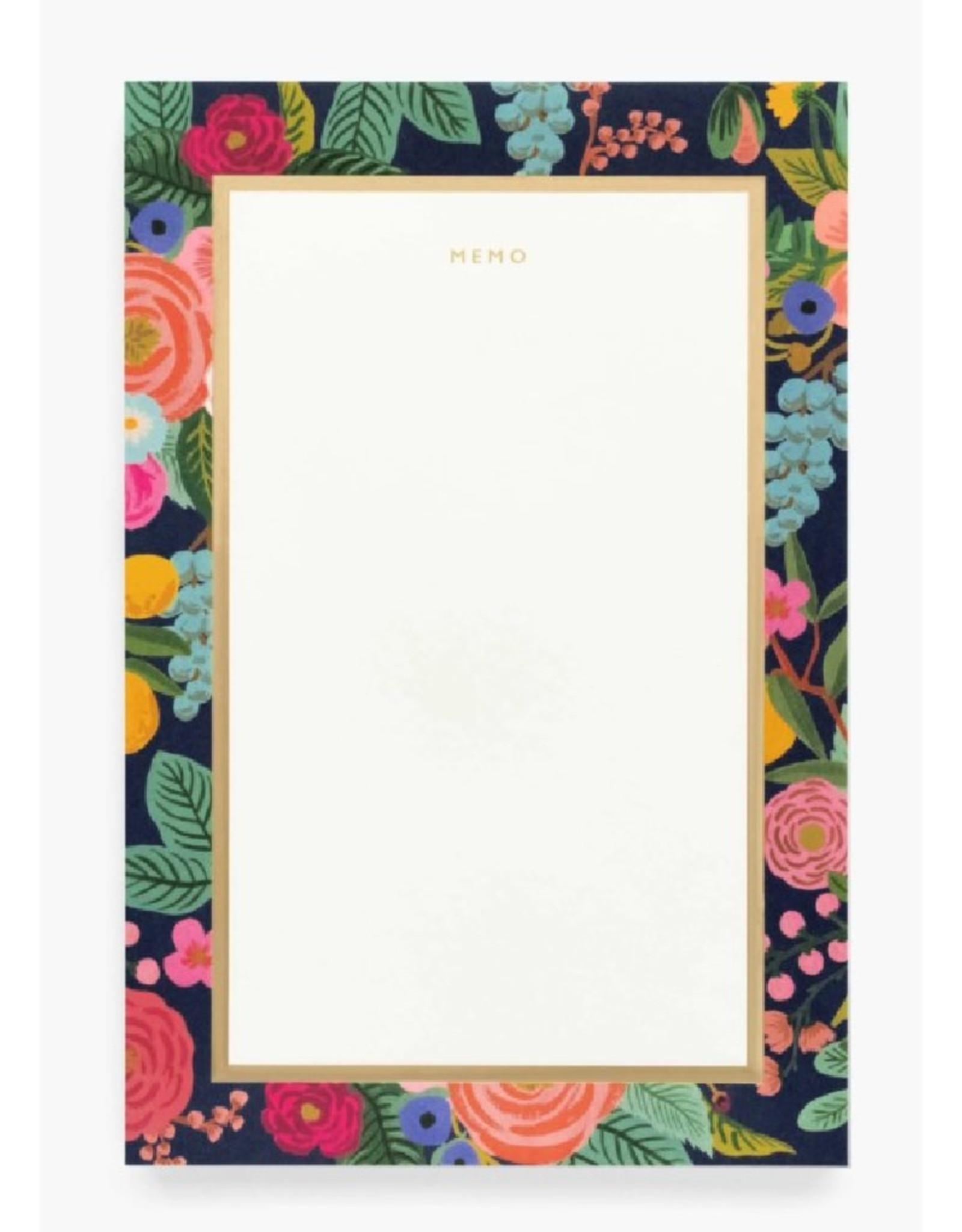 Garden Party Memo Notepad