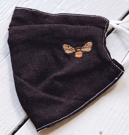 Bee Face Mask - Black