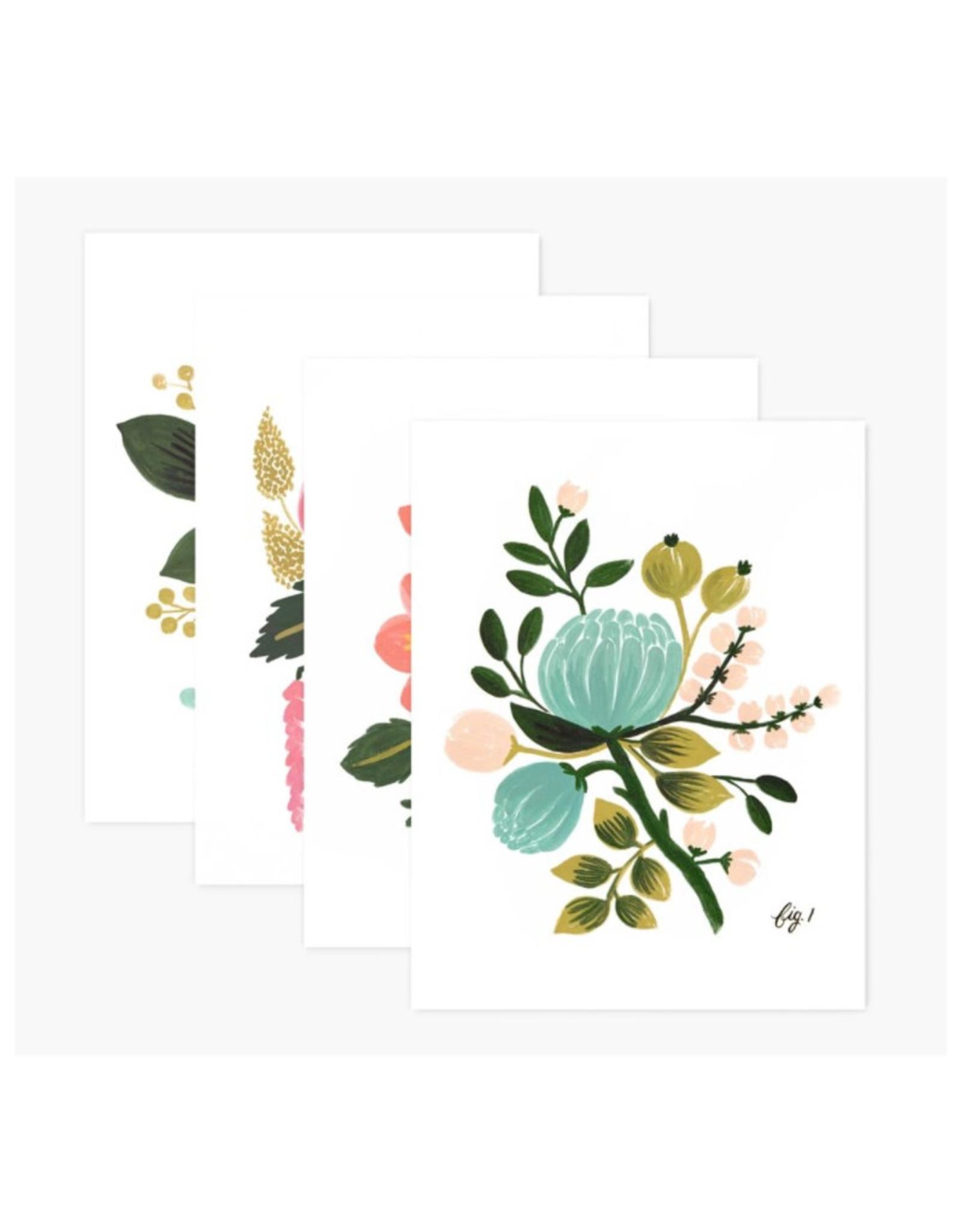 Assorted Botanical Card Set