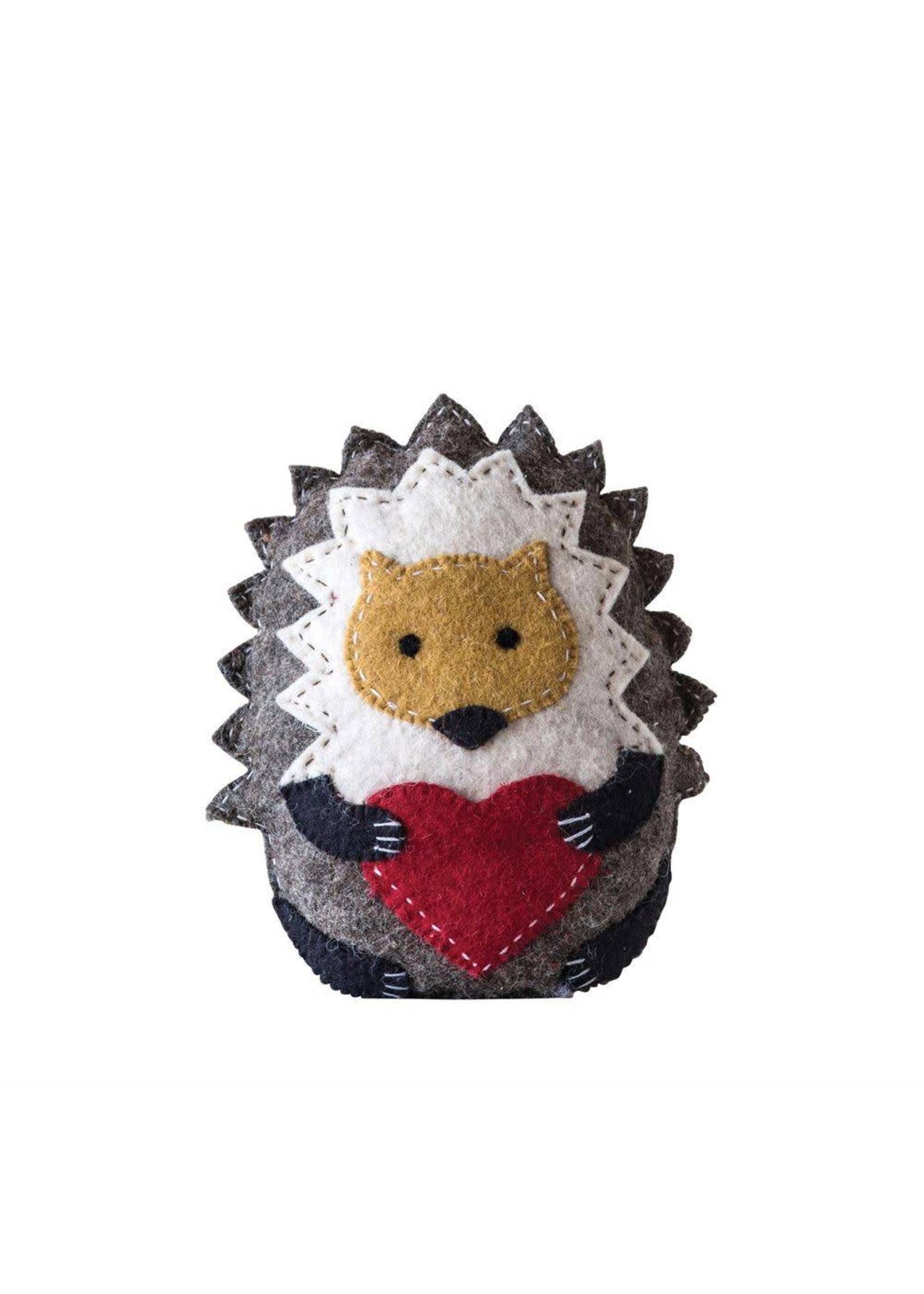 Hedgehog Tooth Fairy Pillow