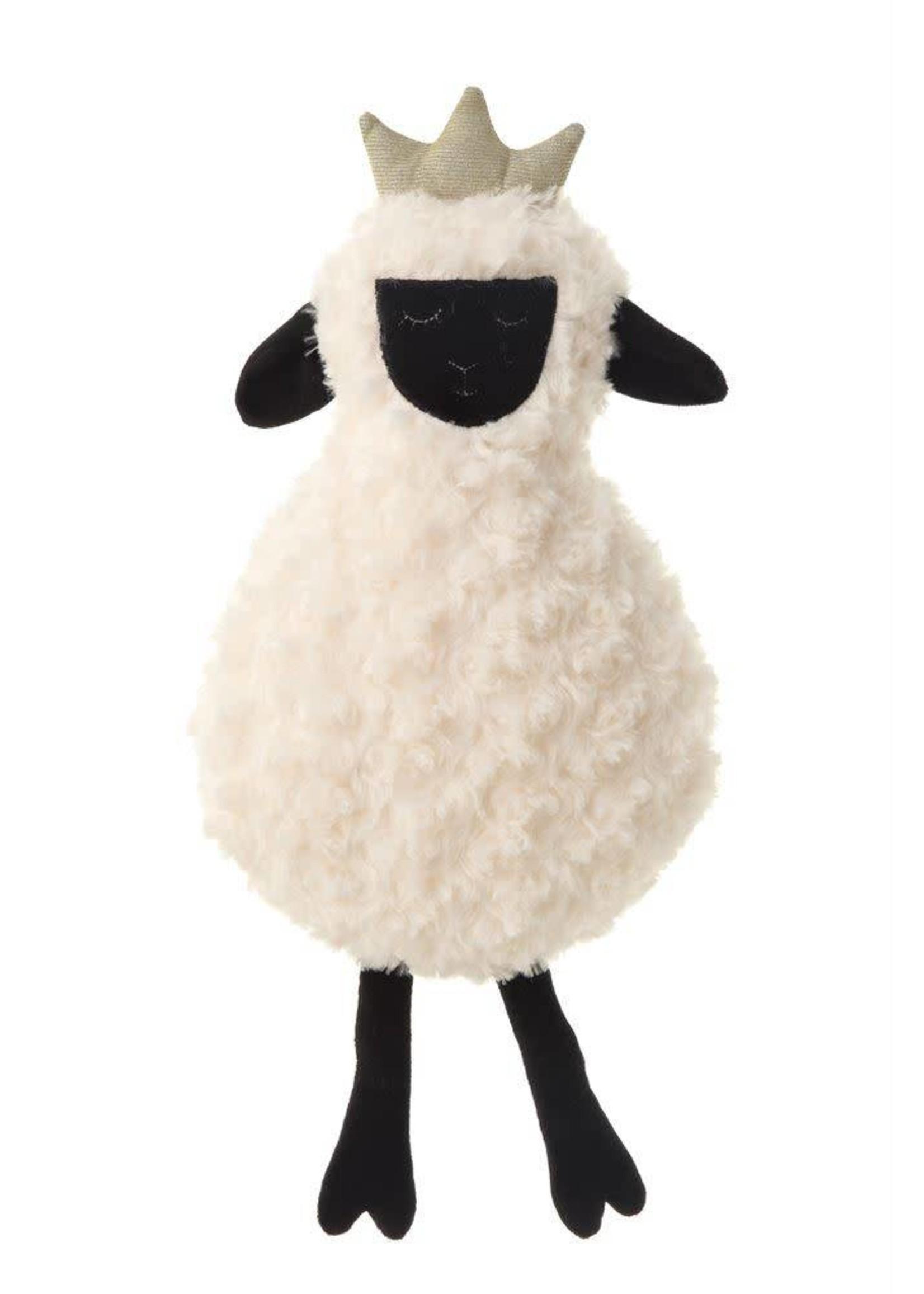 Plush Sheep w/ Crown
