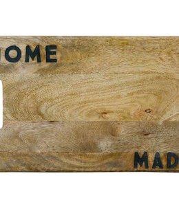 """Mango Wood Cutting Board """"Home Made"""""""