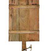 Mango Wood Cheese Board w/ Rope