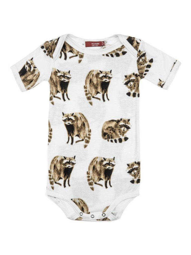 073af7859 Bamboo One Piece Raccoon 6-12M - The Arrangement