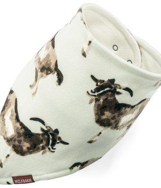 Milk Barn Kids Kerchief Bib Goats