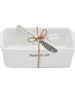 """Bake it Off"" Loaf Pan and Spreader"