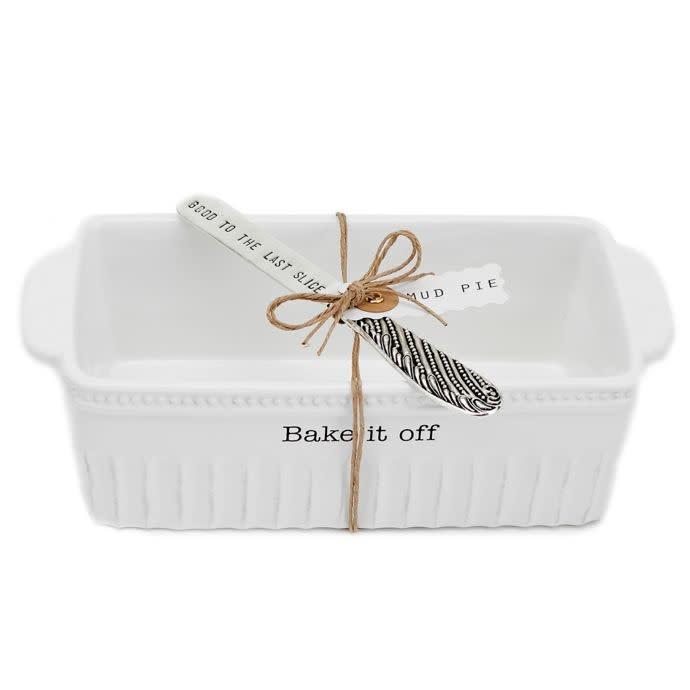 """Bake it Off"" Loaf Pan and Spreader"