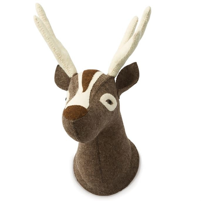 Felt Deer Wall Mount
