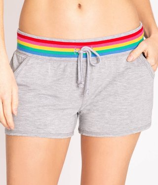 PJ Salvage Rainbow Lounge Short