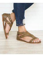 Roman Cut-Out Sandal