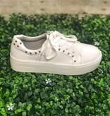 White Embossed Sneaker