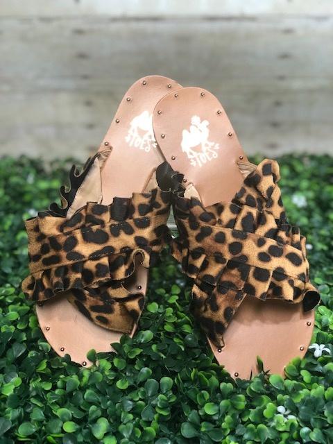 Lola Leopard Sandal