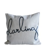 Darling Embroidered Pillow