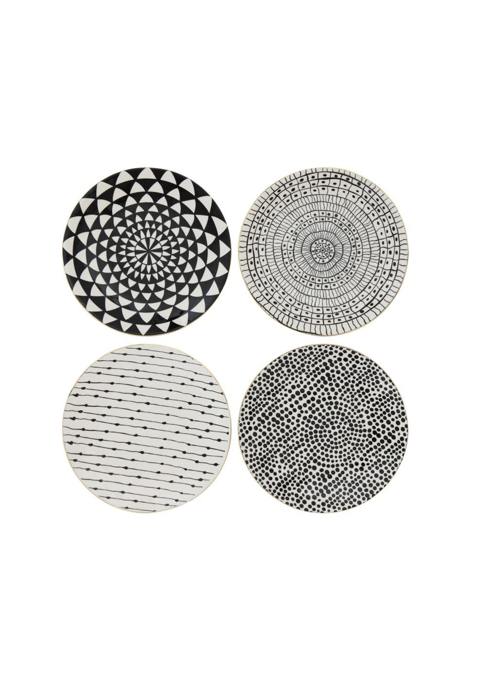 Stoneware Plate Set of 4