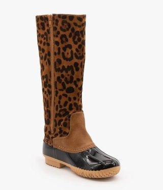 Leopard Duck Boot