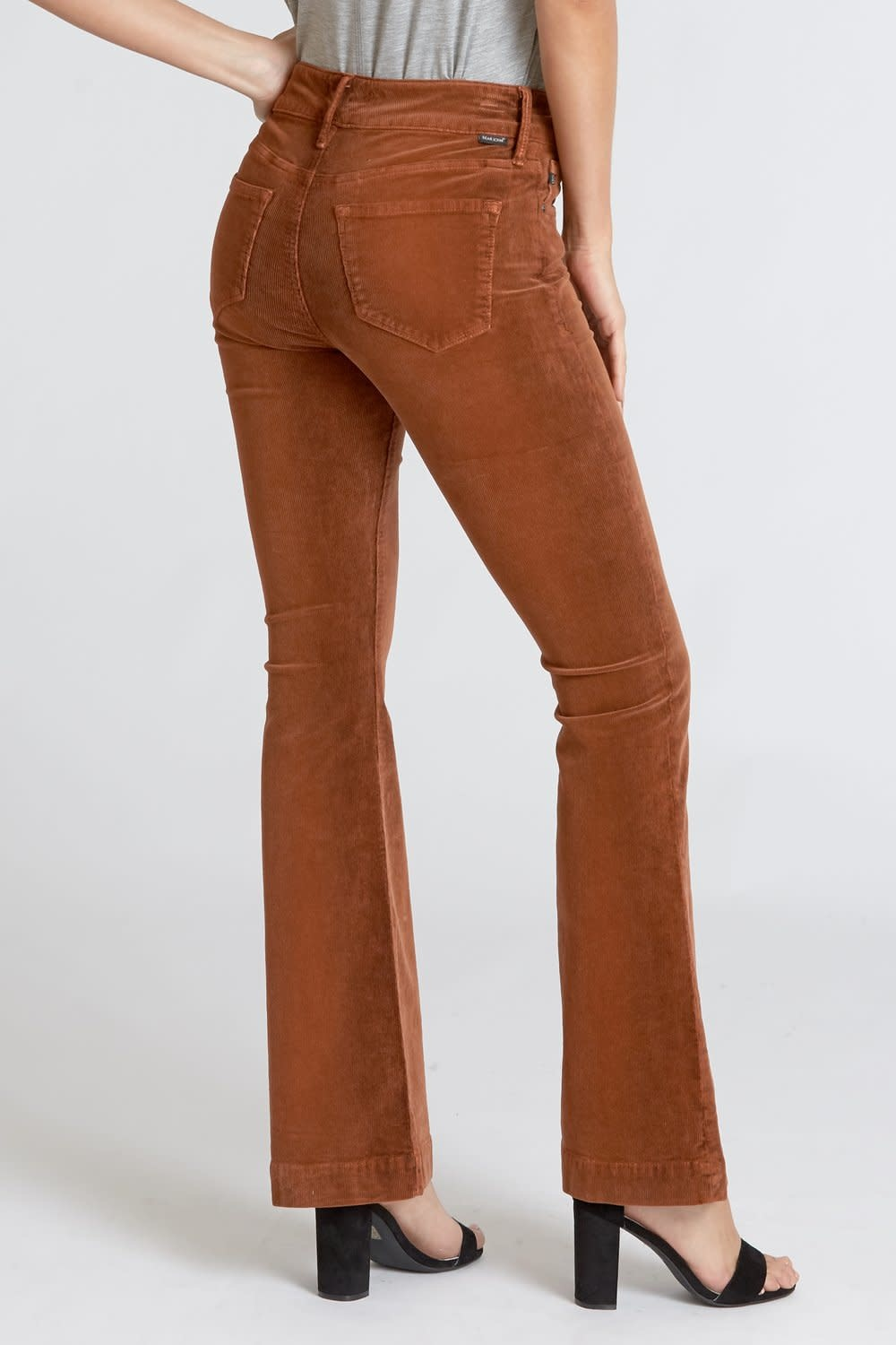 Tuscan Spice Corduroy Flare