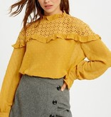 Embroidered Eyelet Lace Top