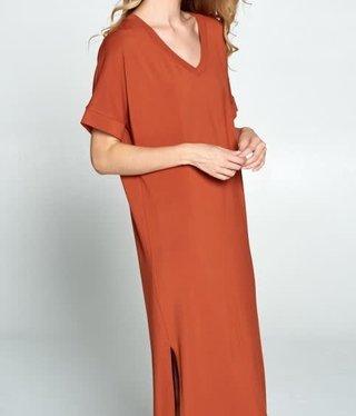 Buttermilk Long Dress