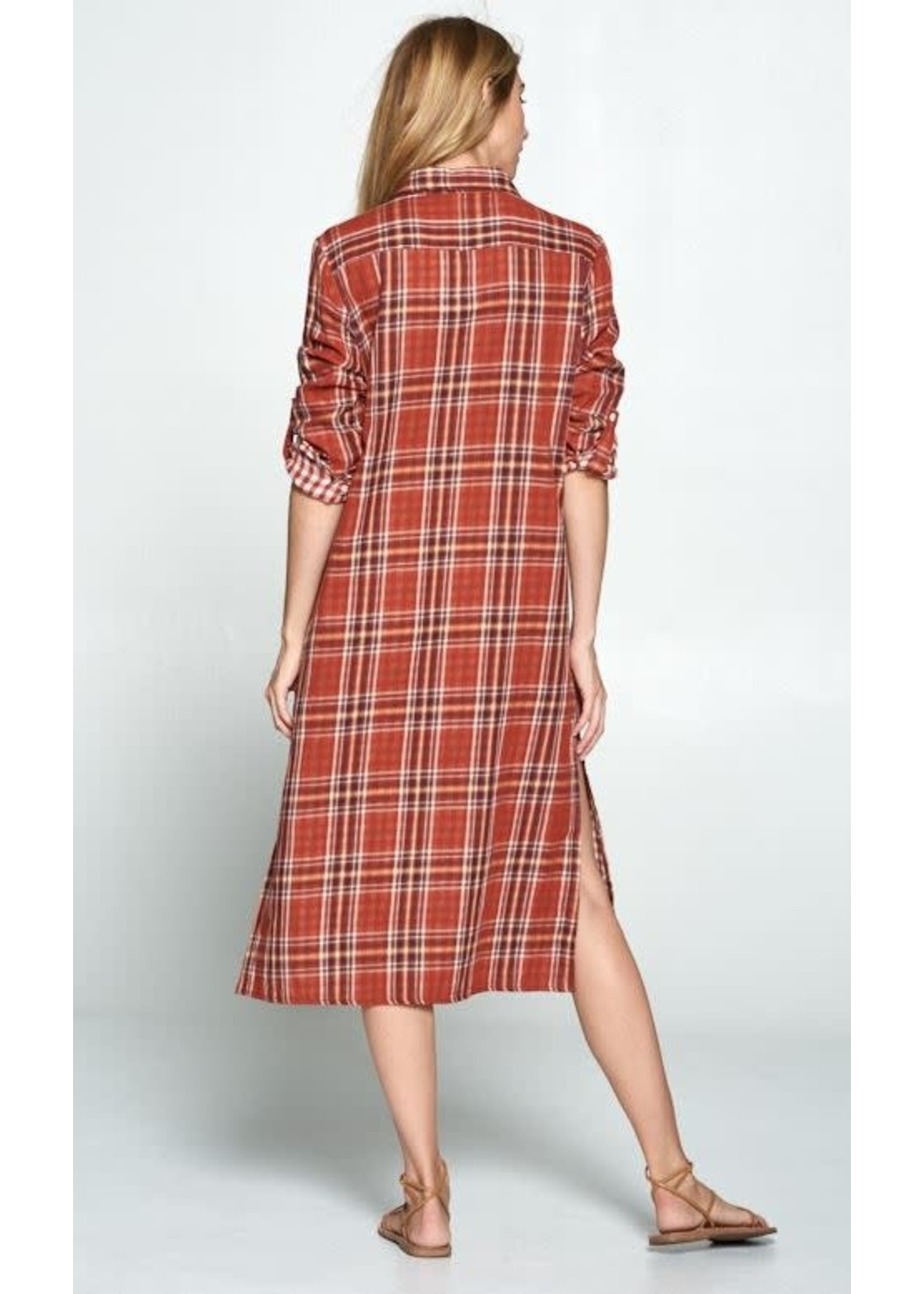 Plaid My Life Dress