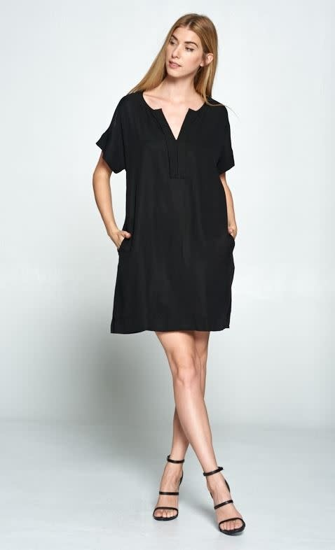Modern Black Dress