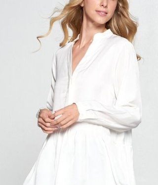 Babydoll off-white Blouse