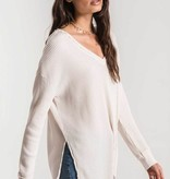 Waffle Champagne Thermal  Tunic