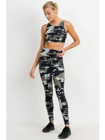Mono B Jungle Camo High waisted Legging