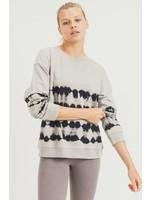 Mono B Tie-Dye pullover-brush stroke