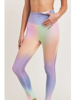 Mono B Rainbow Pastel High waist Leggings