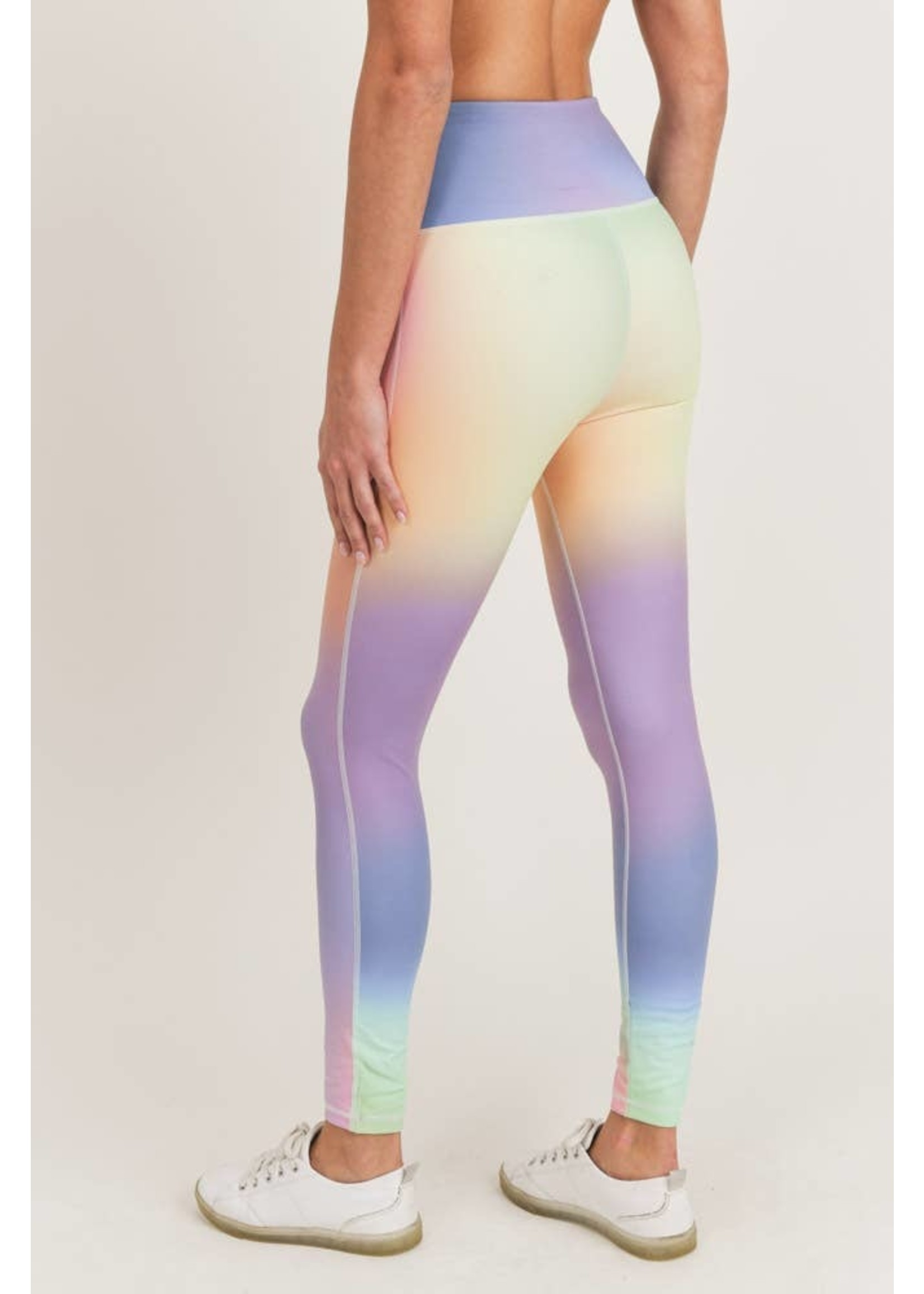 Mono B Rainbow Pastel High waist Leggings