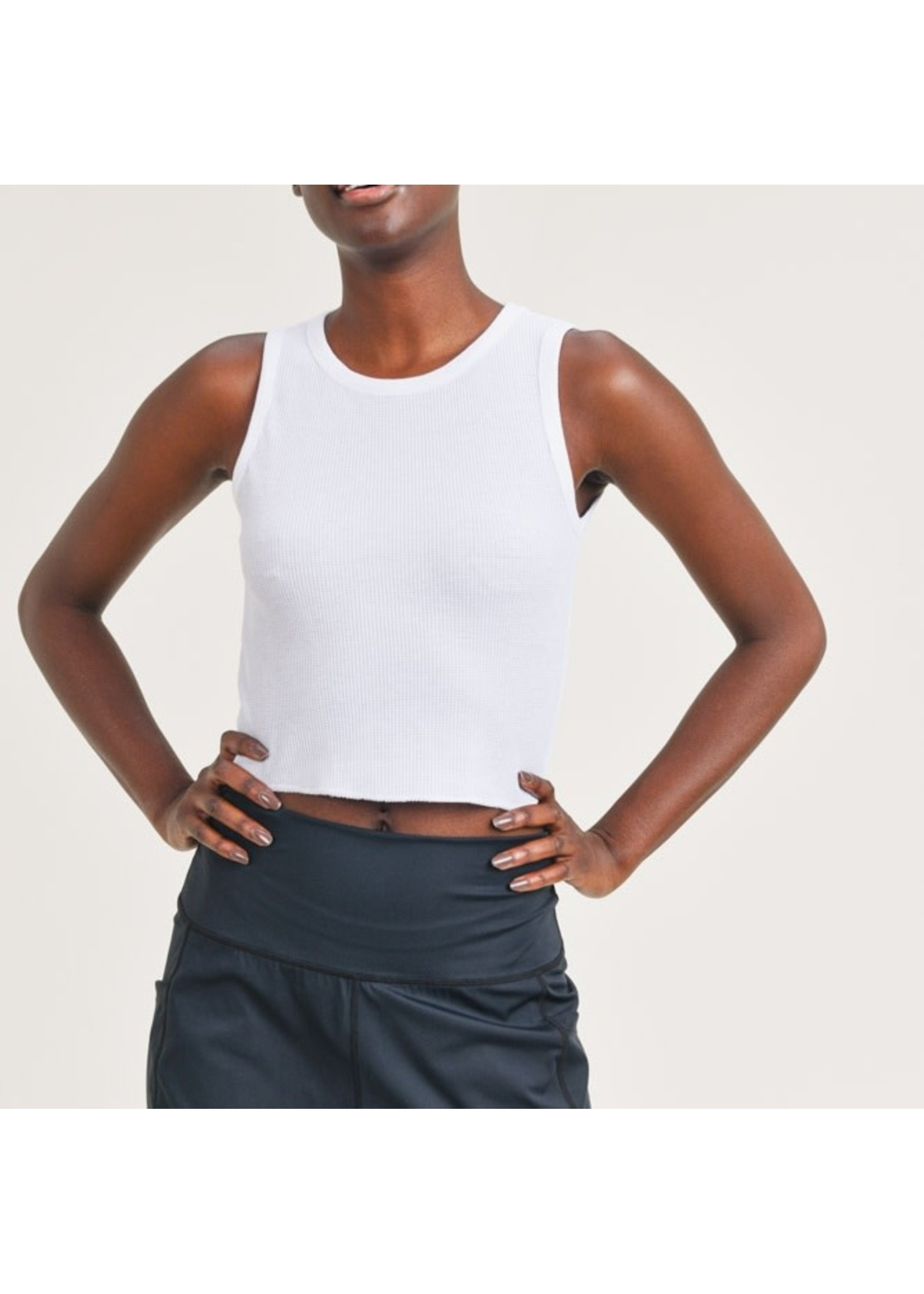 Mono B Mineral Washed Cropped Tank