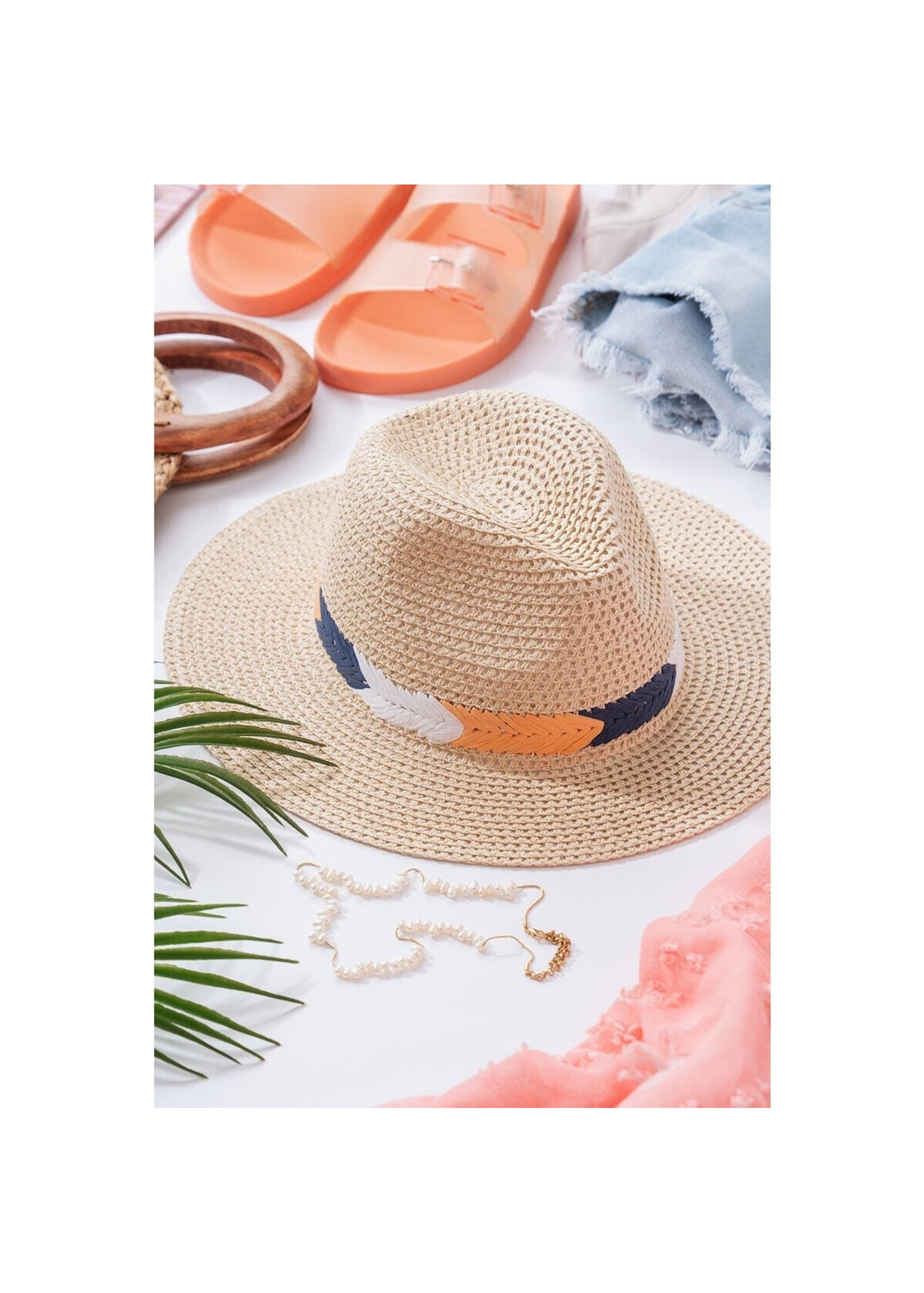 Urban Daizy Weaved Boho Panama Hat