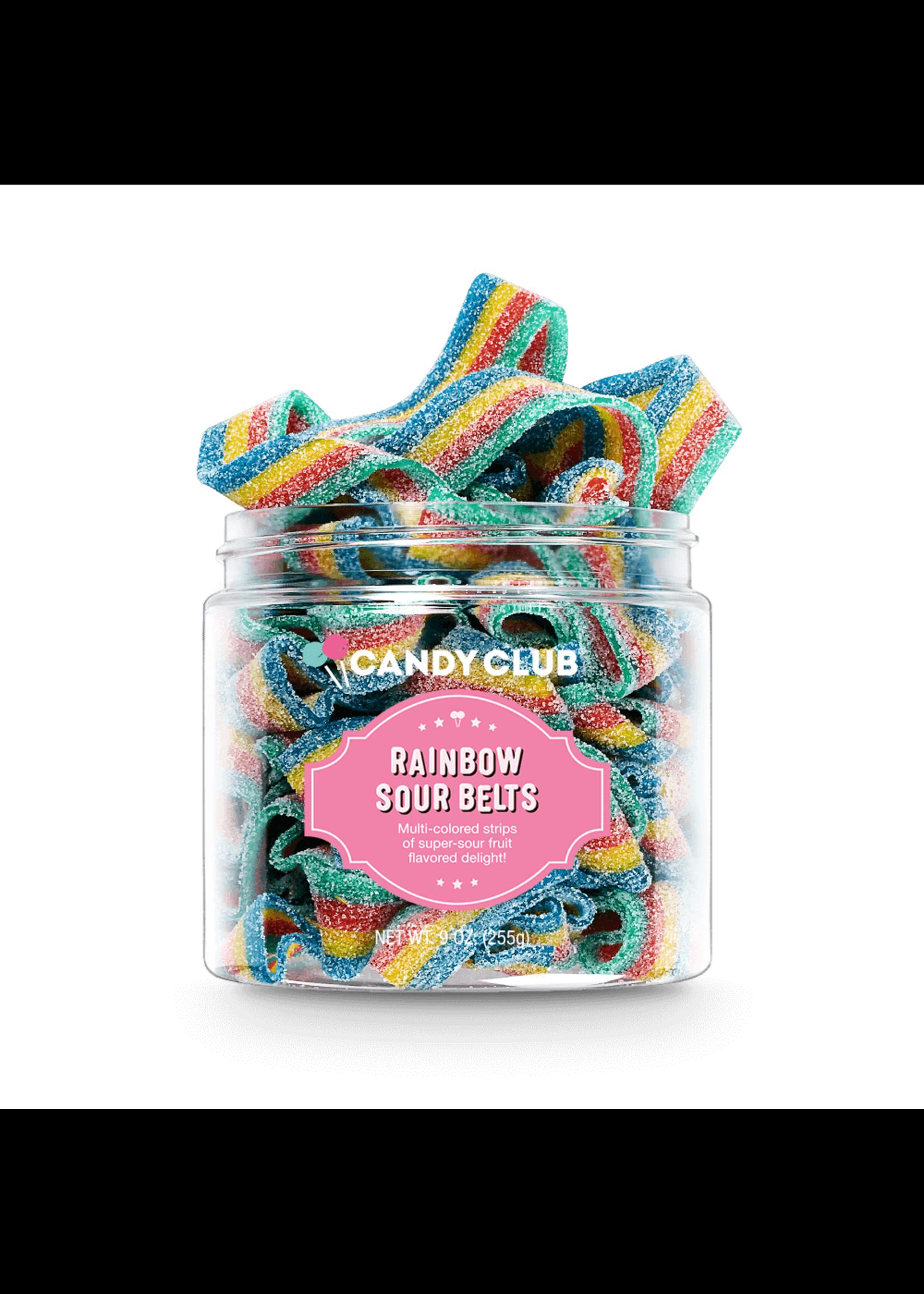 Candy Club Rainbow Sour Belt