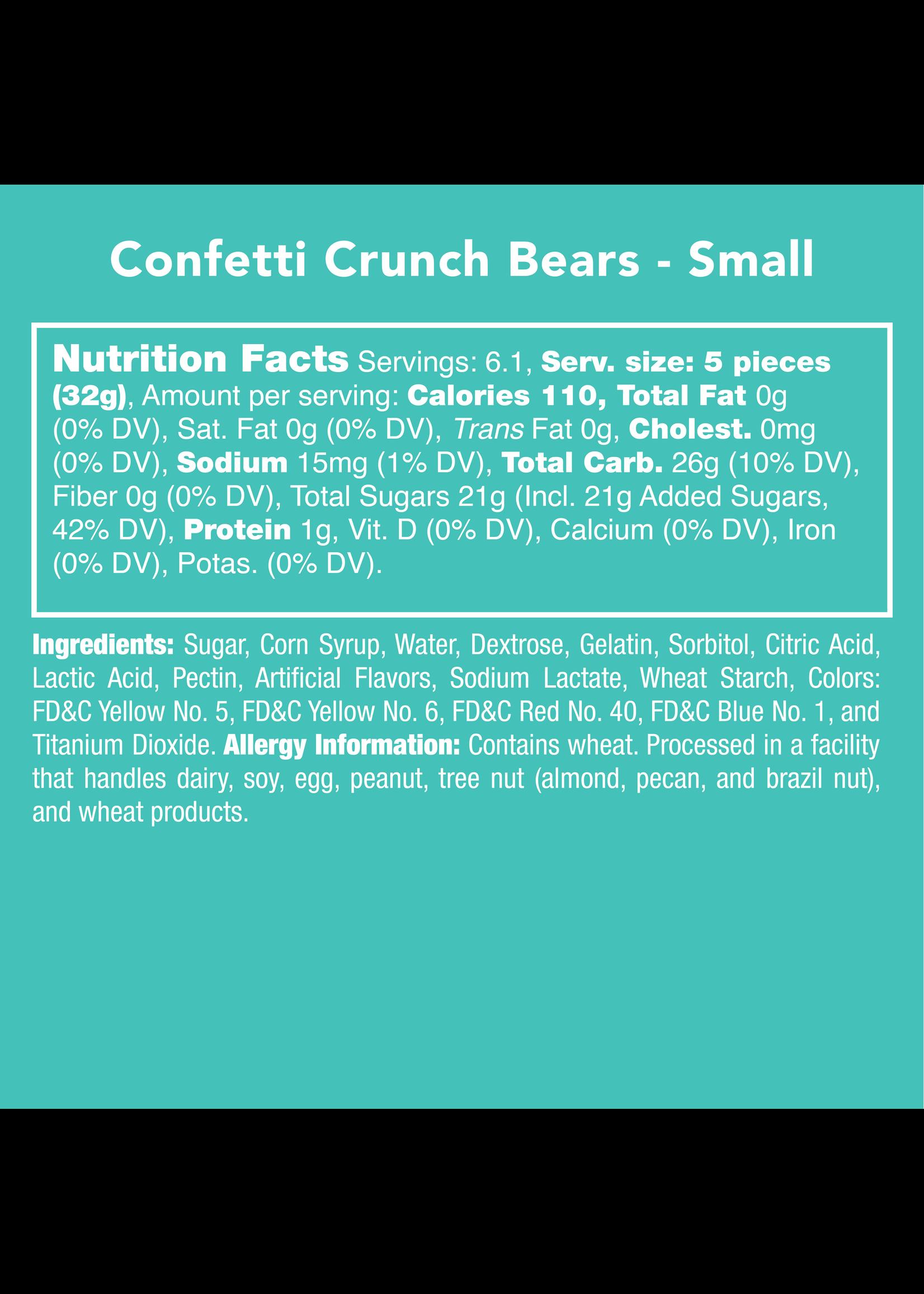Candy Club Confetti Crunch Bears