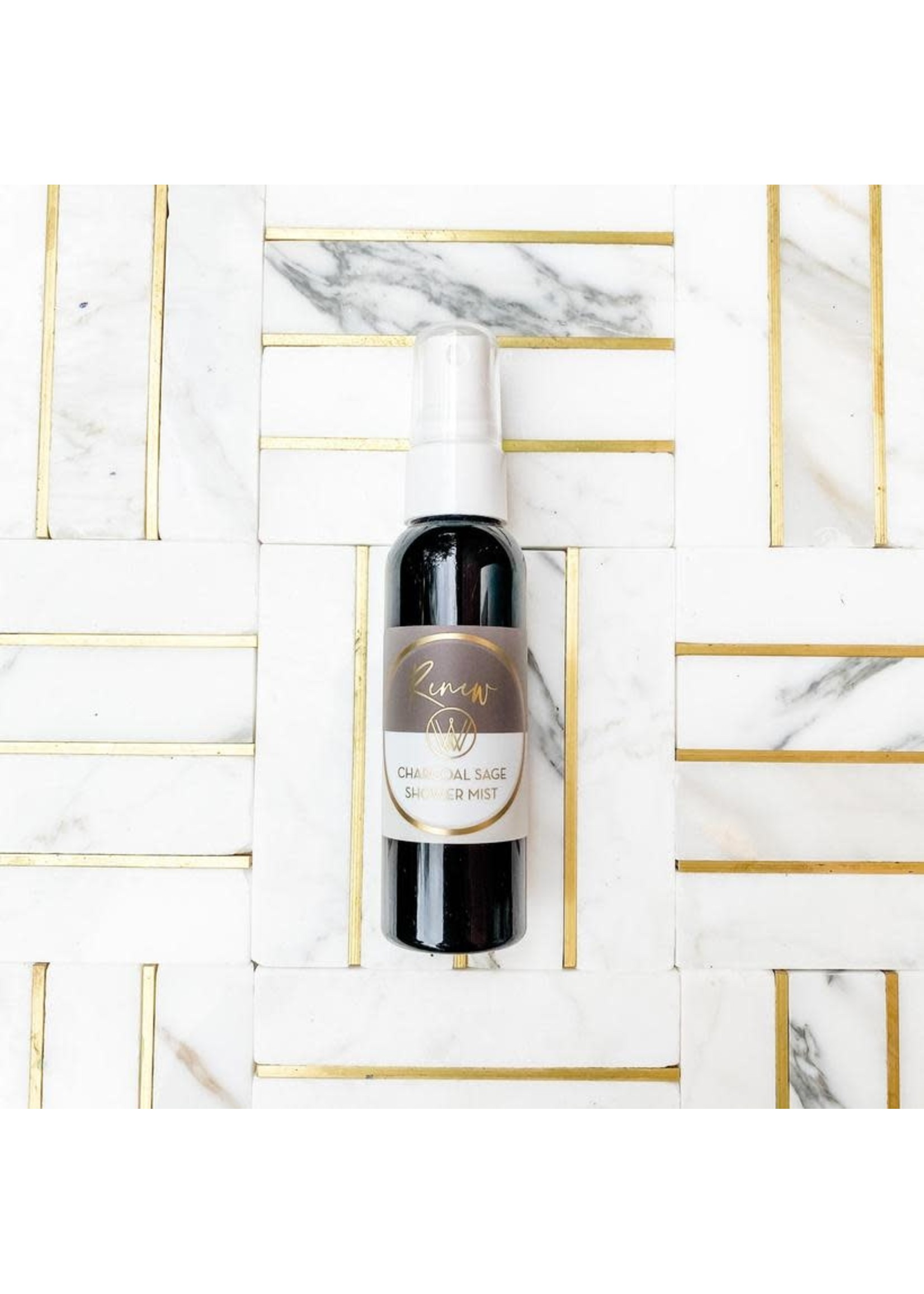 Winton and Waits Charcoal Sage Shower Mist