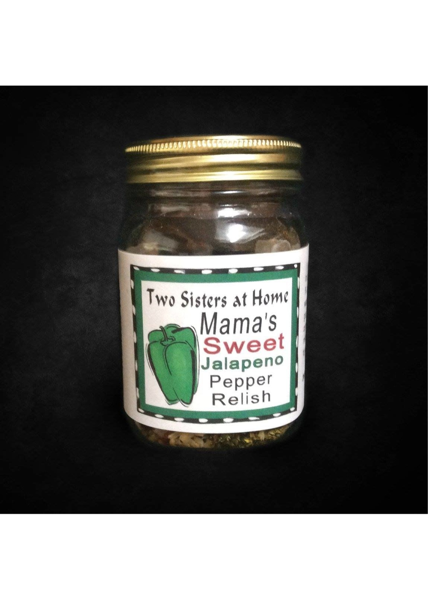 Two Sisters at Home Mama Sweet Jalapeno Pepper Relish