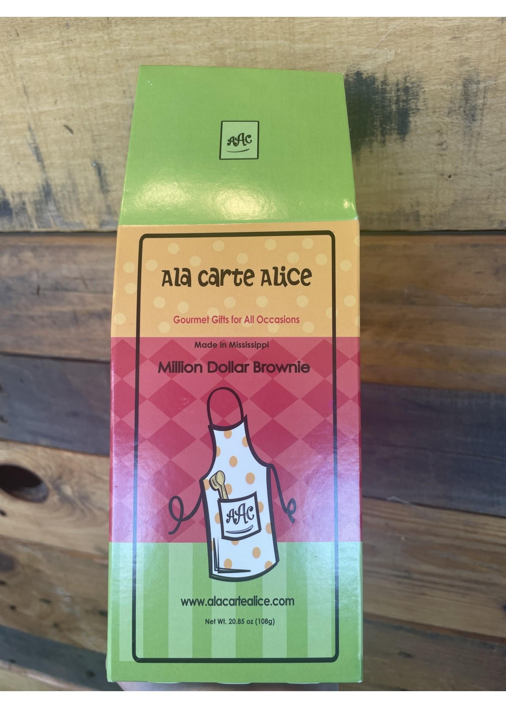 Ala Carte Alice Million Dollar Brownie