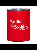 "Santa Barbara Design Studio Stainless Steel ""Vodka & Cookies"" Tumbler"
