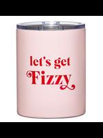 "Santa Barbara Design Studio Stainless Steel ""Let's Get Fizzy"" Tumbler"