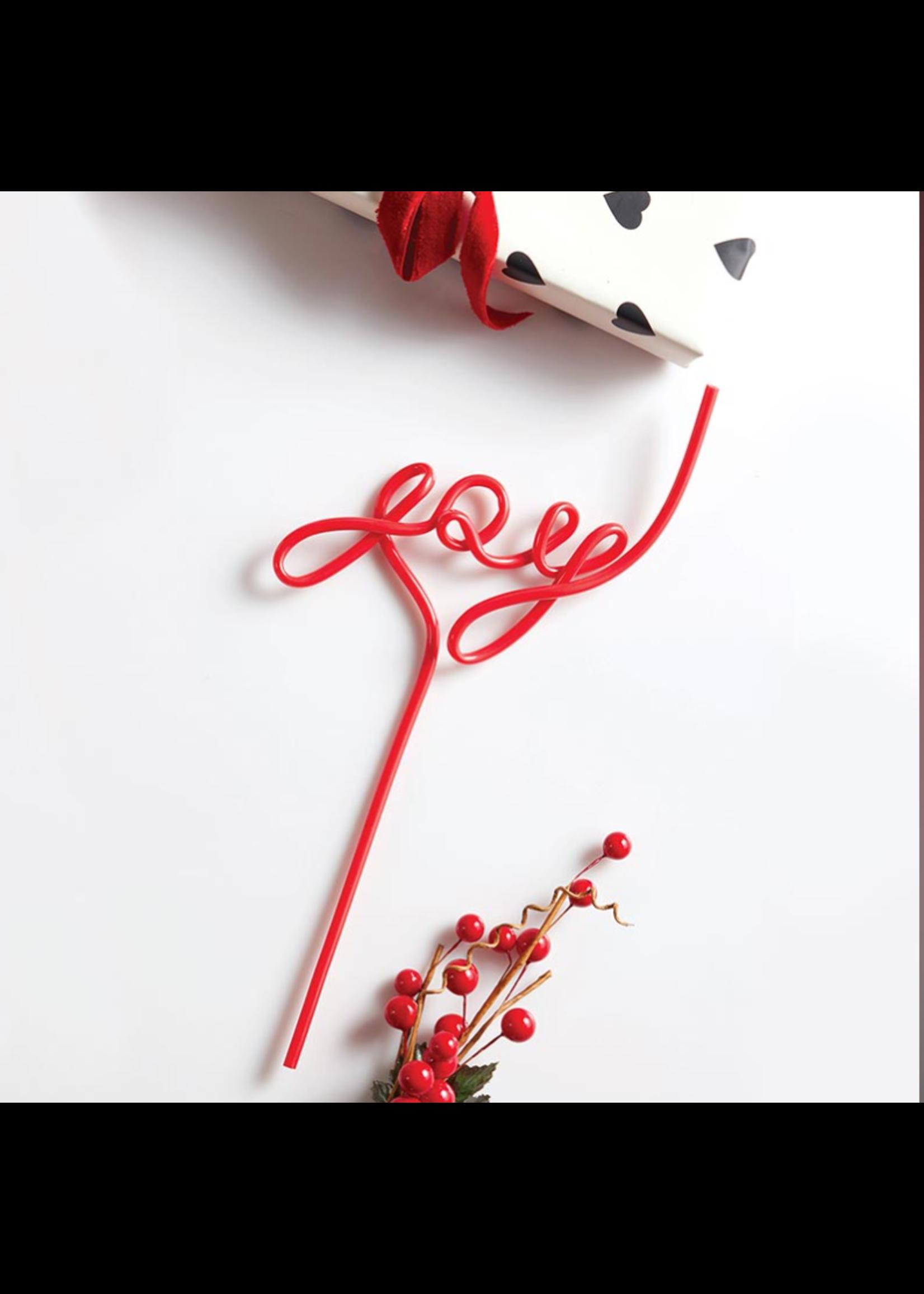 Santa Barbara Design Studio Word Straw-Joy
