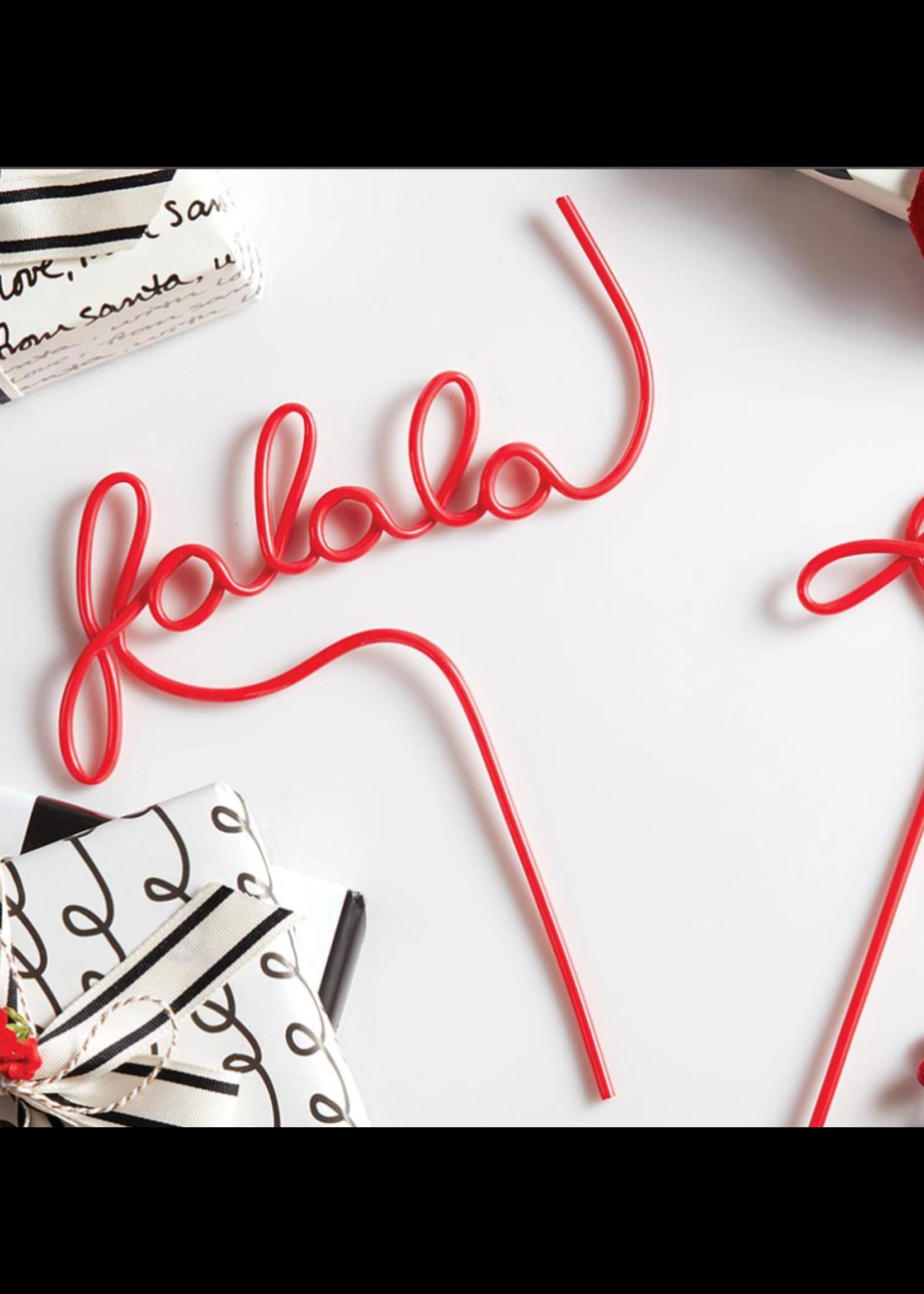 Santa Barbara Design Studio Word Straw-Falala