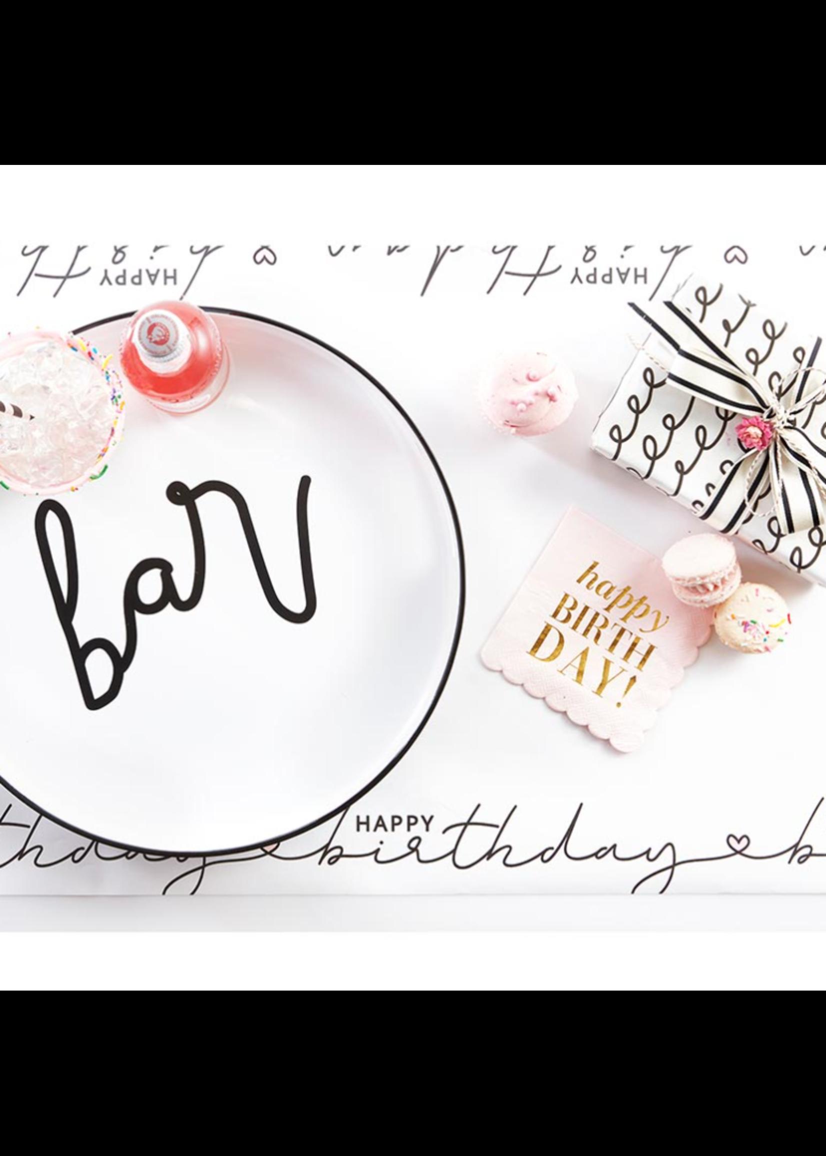 Santa Barbara Design Studio Table Runner-Happy Birthday