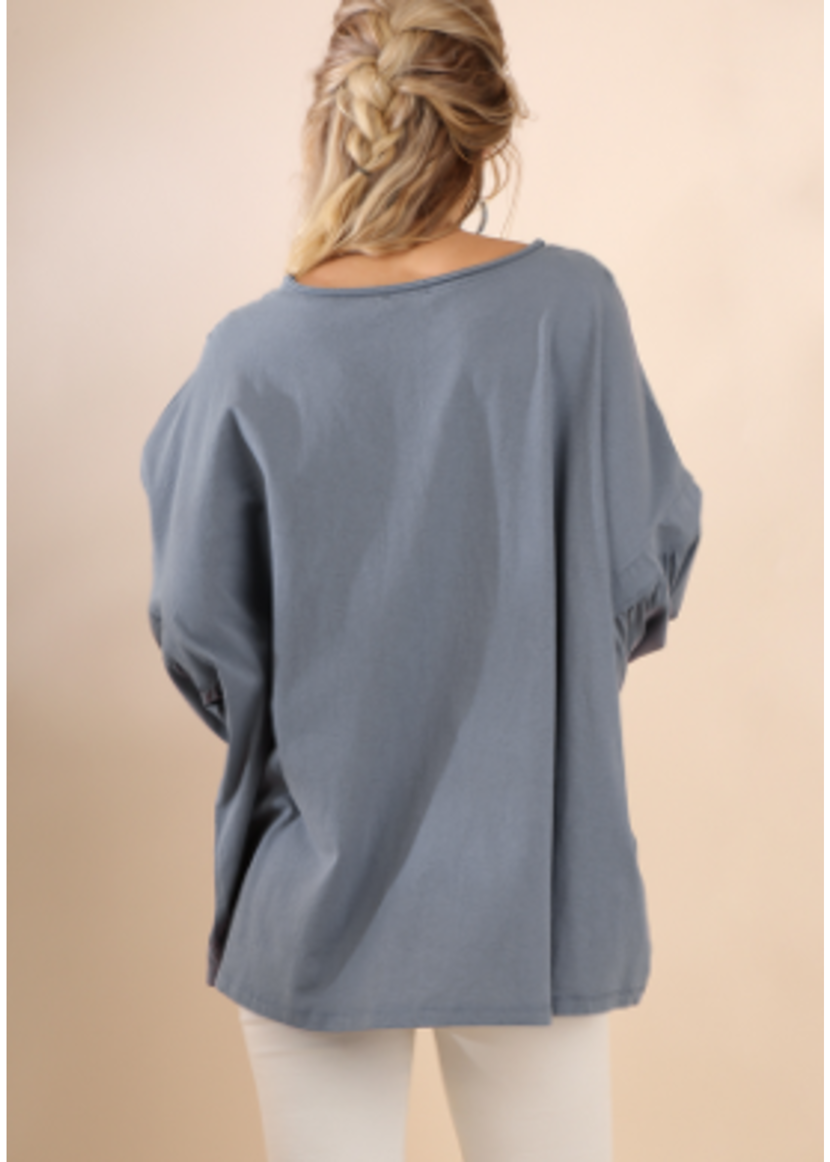 Blue Ash 3/4 Sleeve Top