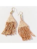 Ink + Alloy Rose Gold Luxe Petite Fringe Earring