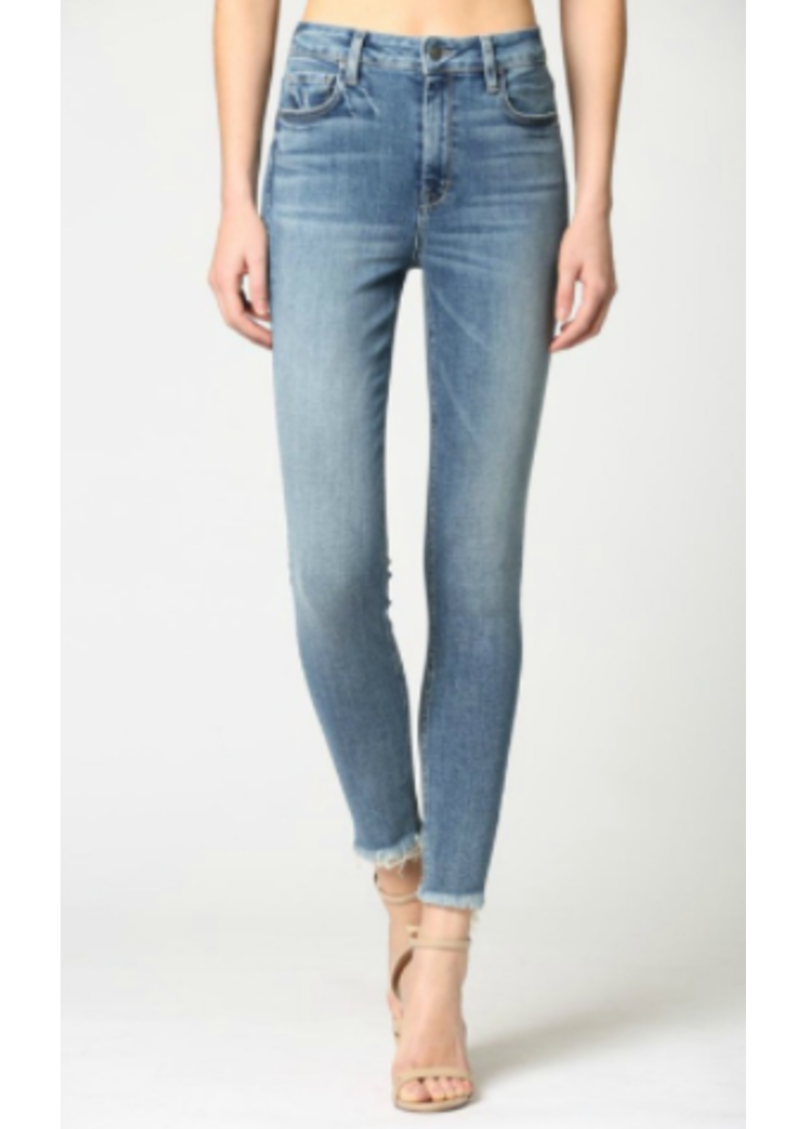 Hidden Jean Taylor Raw Hem Skinny Jeans