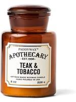 PaddyWax Apothecary Teak & Tobacco