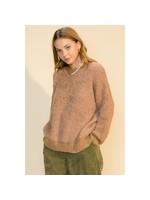 HYFVE Taupe Pullover Sweater