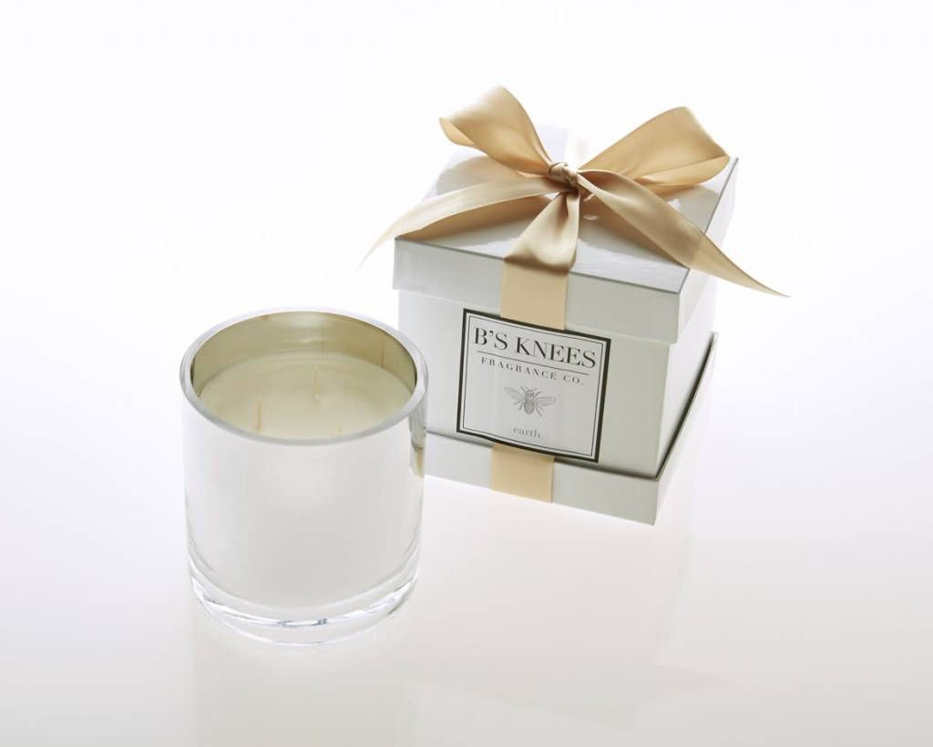 B's Knees 3 Wick Candle - Earth