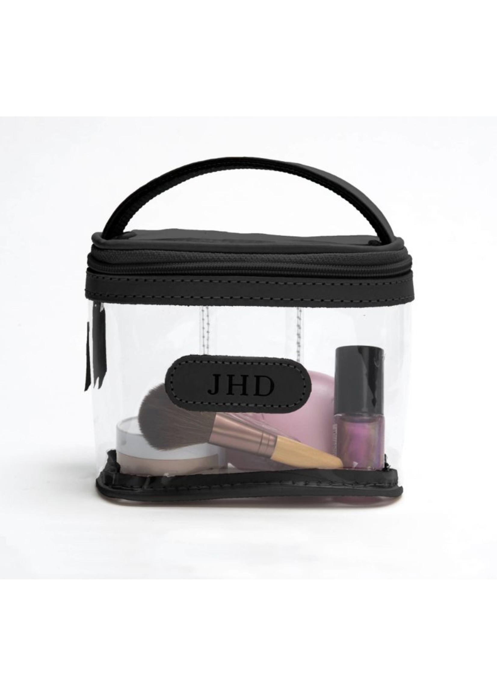 Jon Hart Makeup Case, Clear Mini